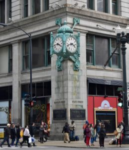 Architectural Tour of Chicago| Marshall Fields Building | Cathedrals and Cafes Blog