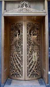 Architectural Tour of Chicago| Peacock Doors | Cathedrals and Cafes Blog