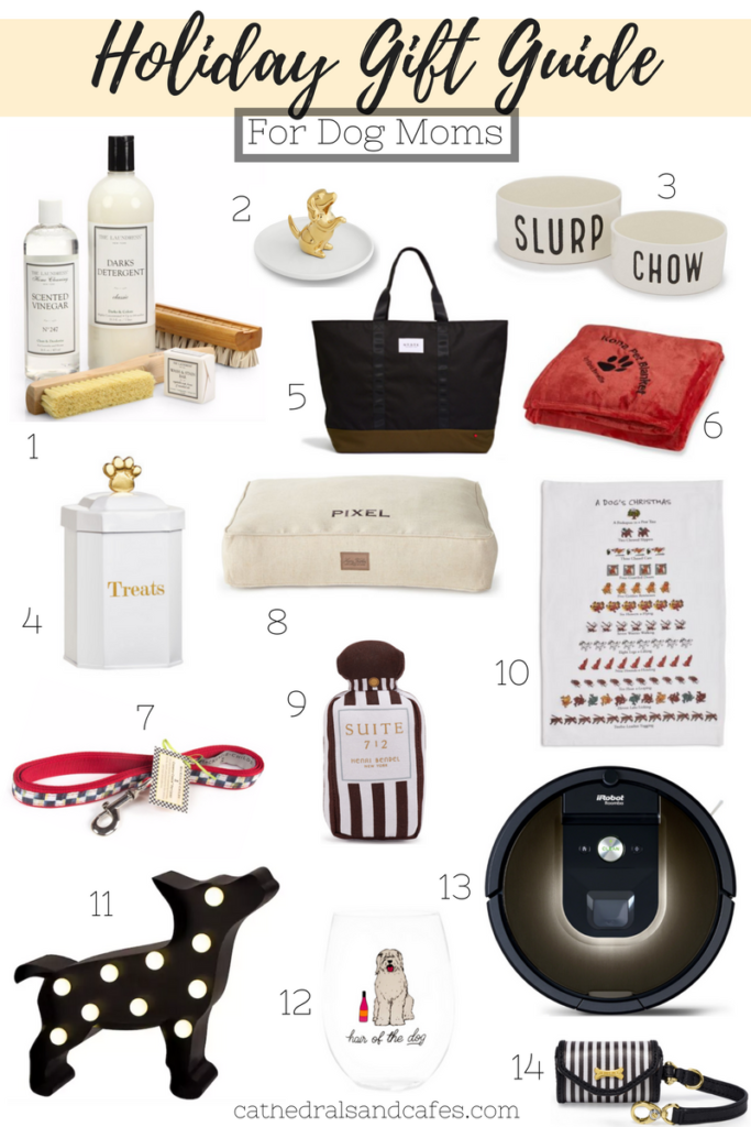 Holiday Gift Guide For Dog Moms _Cathedrals and Cafes Blog _ Gifts _ Gifts for Dogs _ Christmas _ Gift Guide