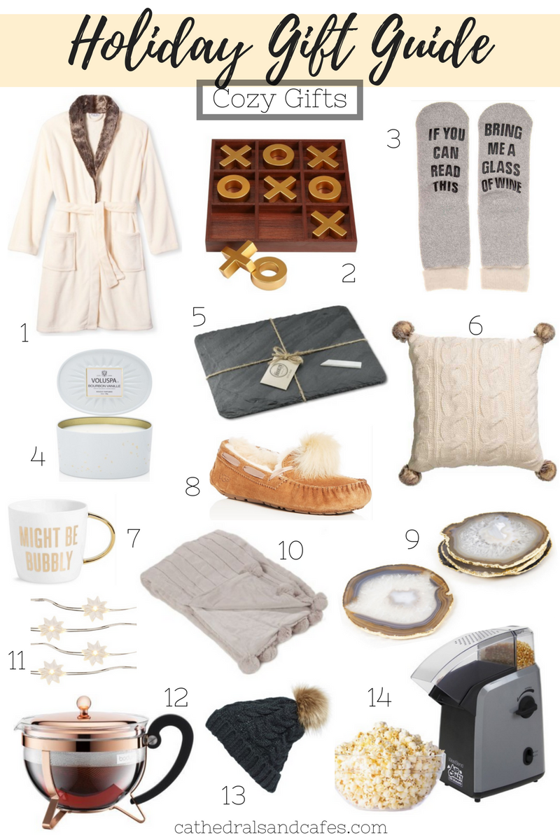 Holiday Gift Guide_ Cozy Gifts _Cathedrals and Cafes Blog _ Gifts _ Gifts for Home _ Christmas _ Gift Guide