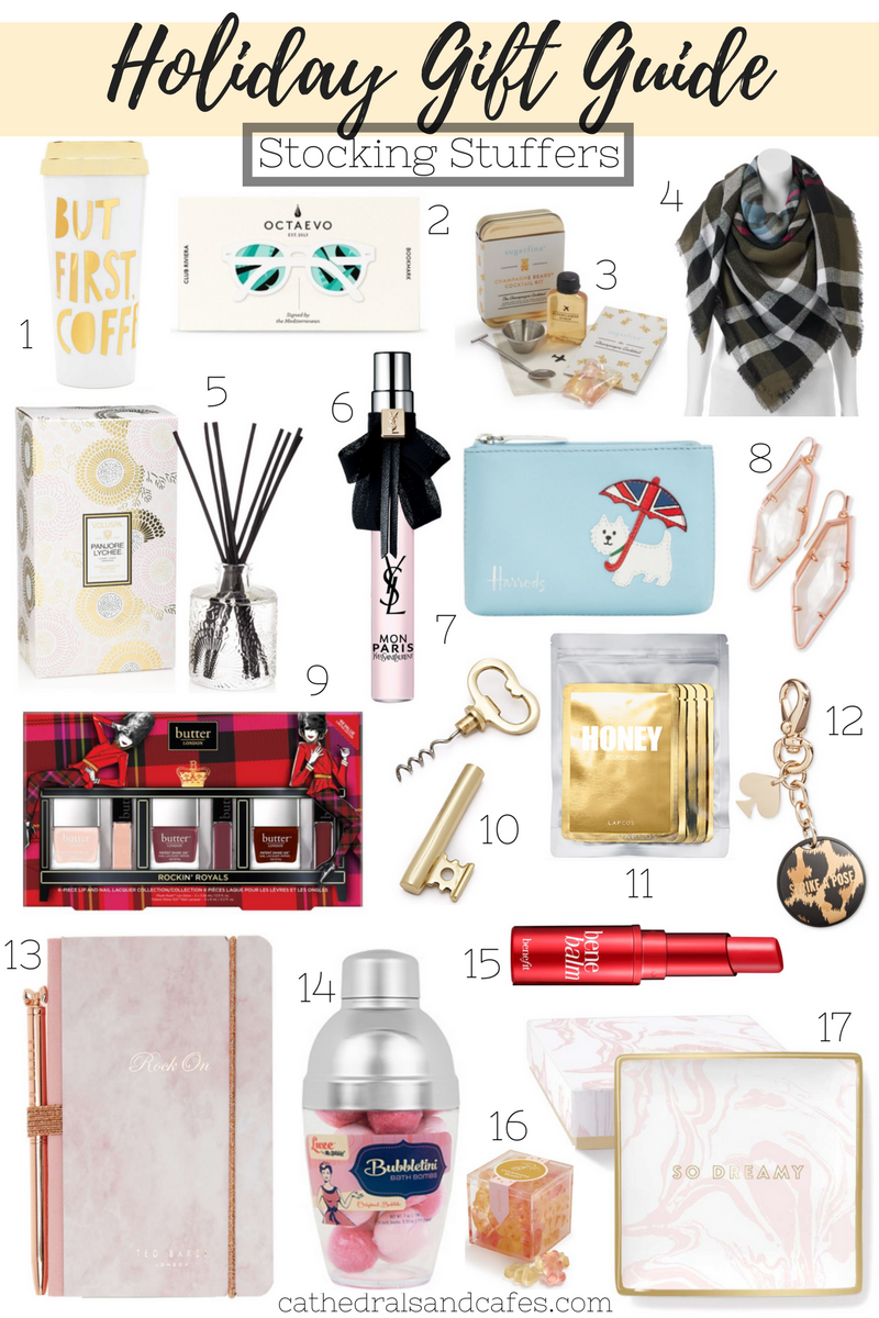 Holiday Gift Guide_ Stocking Stuffers _Cathedrals and Cafes Blog _ Gifts _ Gifts for Her _ Christmas _ Gift Guide _ Blogger Gifts
