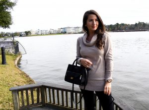 Erin from cathedrals and cafes blog recommends the rivington convertible mini tote from henri bendel