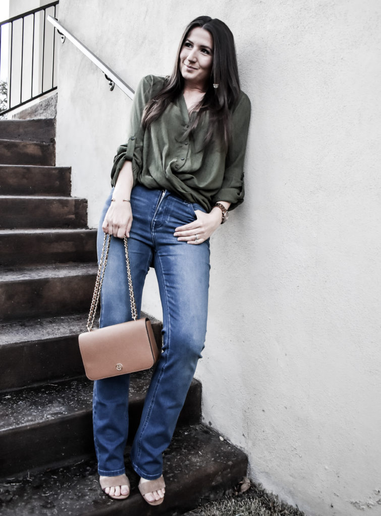 Erin from Cathedrals and Cafes Blog models Diane Gilman DG2 Jeans