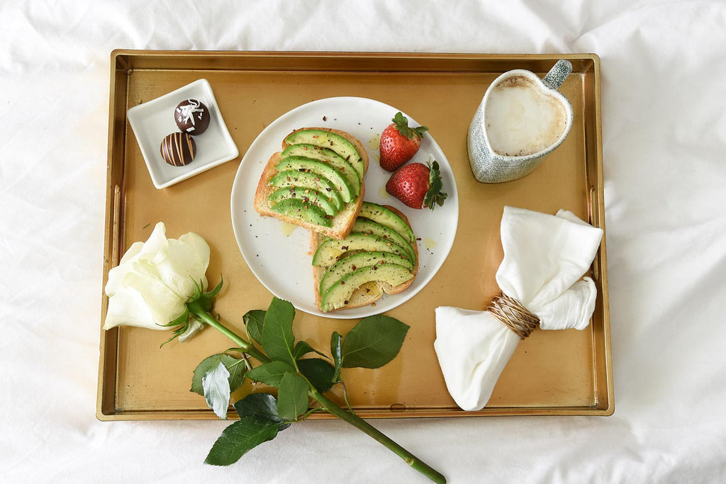 Avocado Toast Breakfast in Bed from www.berries.com