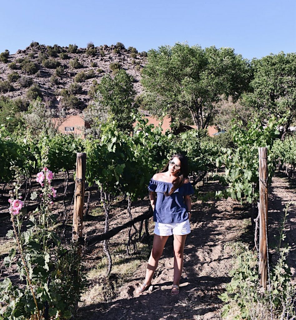 What to wear to a winery | Vineyard Style | New Mexico Winery | Black Mesa Winery | Cathedrals and Cafes blog