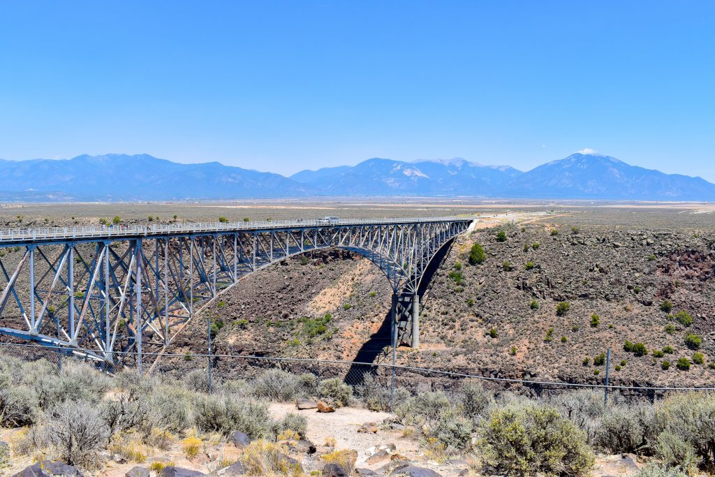 Taos Travel Diary | What to do in Taos | Rio Grande Gorge Bridge | New Mexico Travel Guide | Cathedrals and Cafes Blog