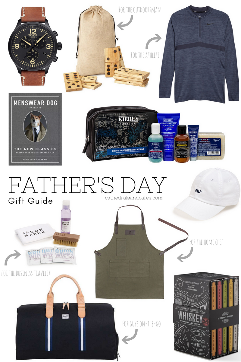Father's Day Gift Ideas | Gifts for Dads | Gifts for Him | Cathedrals and Cafes Blog
