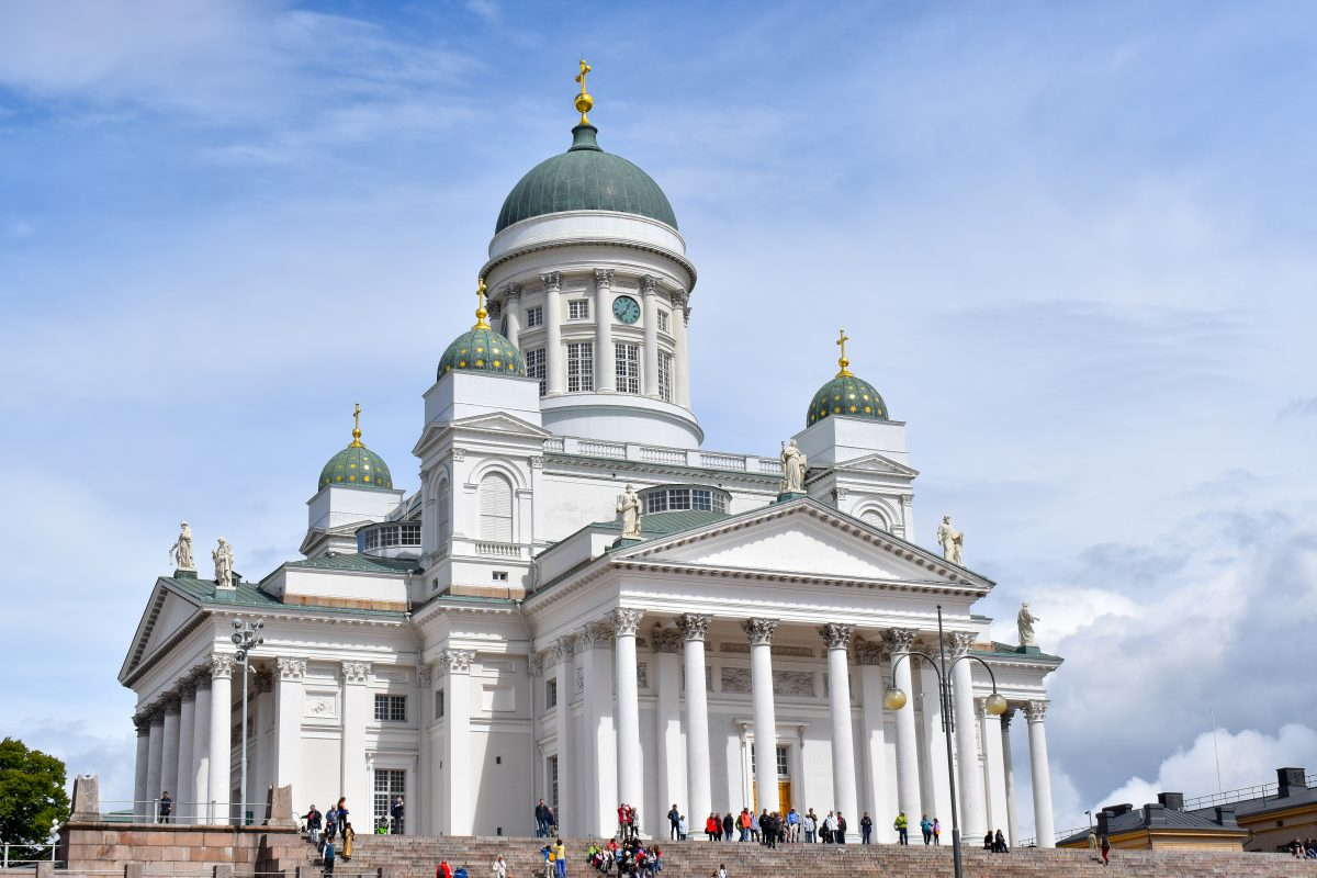 Cathedral in Helsinki Finland