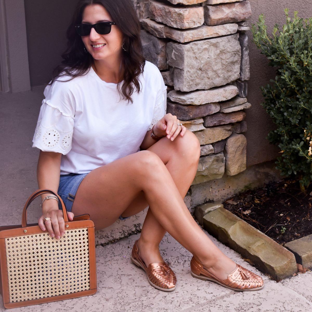 How to wear huarache sandals