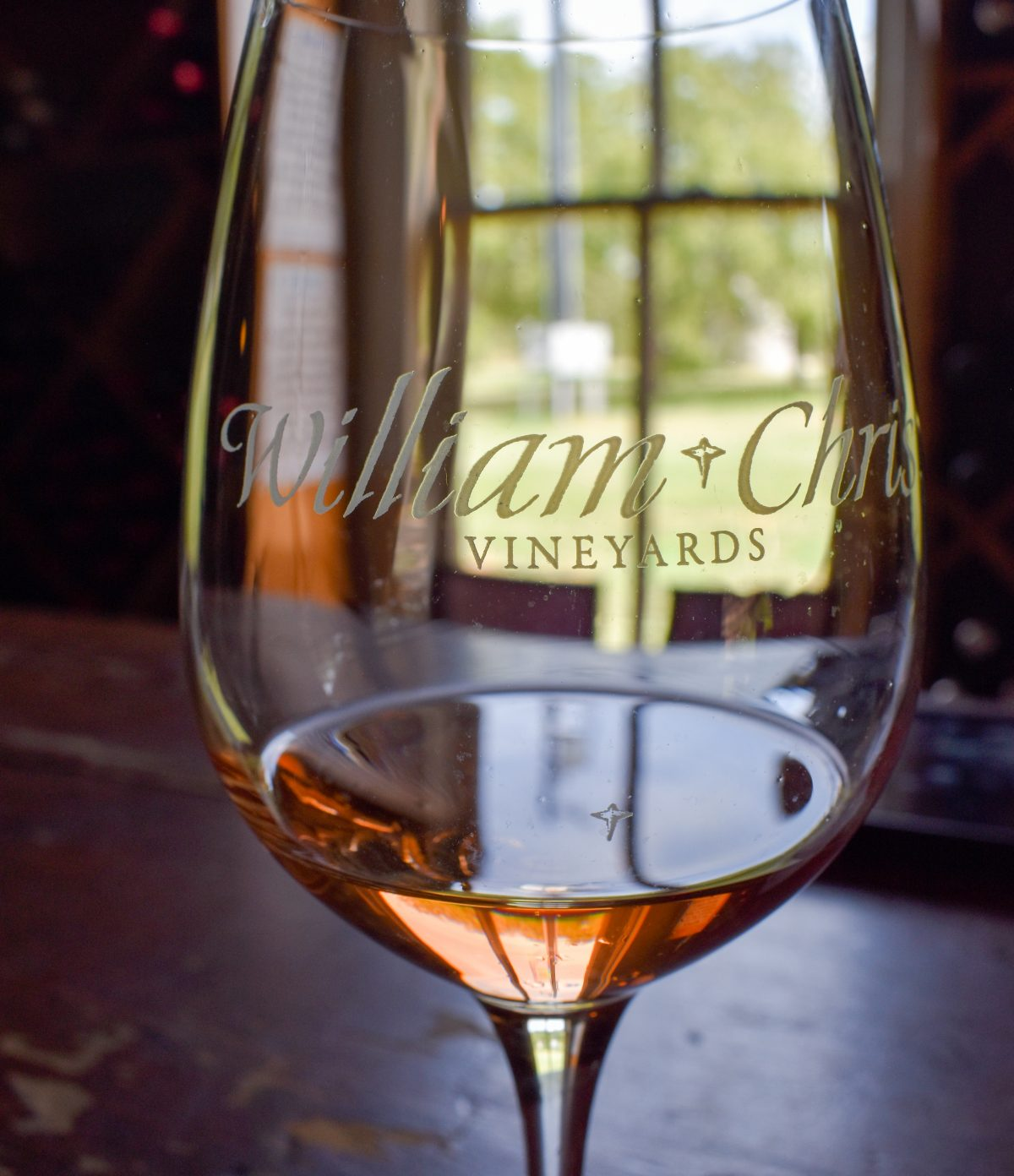 Wine Tasting at William Chris Vineyards